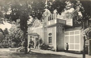 Pöstyén, Piestany; színház, Gipsz H. kiadása / theater (EK)