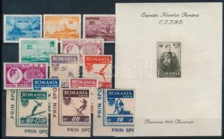 1931-1946 37 klf bélyeg és 1 blokk (Mi EUR 157,9-)