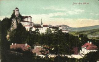 Árvavára, Oravsky Zamok; vár / castle (EK)