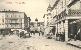 Fiume, Via del Molo / street