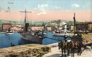 Fiume, port