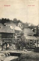 Verespatak, Rosia Montana; Privát zárda, Schmidt György kiadása / private priory (vágott / cut)