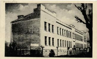 Munkács, Mukacevo; Héber zsidó gimnázium / Hebrew grammar school, Judaica,