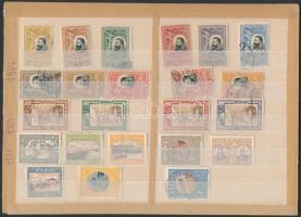 1906-1913 23 klf bélyeg (Mi EUR 61,2-)