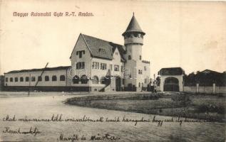Arad, Magyar Automobil Gyár Rt., Kerpel Izsó kiadása / Hungarian automobile factory (EK)