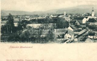 Munkács, Mukacevo; (vágott / cut)