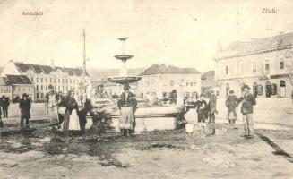 Zilah, Zalau; Artézikút, Seres Samu kiadása / artesian well (EK)