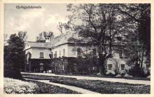 Gyöngyöshermán (Szombathely), Szegedy kastély, Háber fényképész kiadása