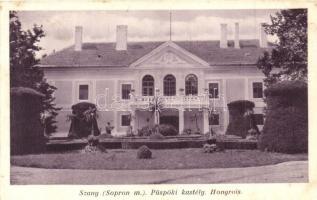 Szany, Püspöki kastély (Rb)