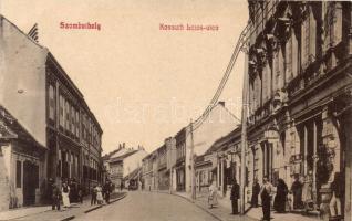 Szombathely, Kossuth Lajos utca, Tóth Károly üzlete (EK)