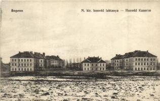 Sopron, Honvéd laktanya