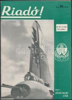 1943 A Riadó! A Légoltalmi Liga lapja VII. évfolyamának 19. száma