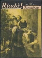 1943 A Riadó! A Légoltalmi Liga lapja VII. évfolyamának 24. száma