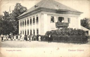 Lóc, Nagylóc; Pongrácz-féle kastély, Lóci fogy. szövetkezet kiadása (EK)