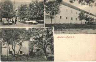 Nyitra, Nitra; Zobori-zárda-vendéglő, zárda / priory, restaurant (vágott / cut)