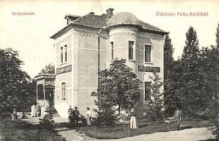Félixfürdő, Baile Felix; Gyógyszertár. kiadja Engel József / pharmacy