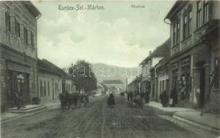 Turócszentmárton, Turciansky Svaty Martin; Fő utca, üzletek / main street, shops (EK)