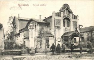 Nagykároly, Carei; Városi színház / theatre (b)