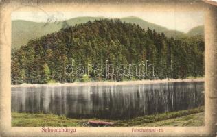 Selmecbánya, Banská Stiavnica; Felsőhodrusi-tó, Grohmann kiadása / lake (EK)