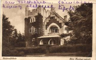 Balatonföldvár, Báró Korányi nyaraló