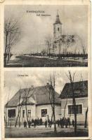 Kerekegyháza, Református templom, Orvos-lak, Szabó János kiadása (EK)