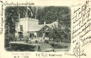 1899 Sződrákos-puszta, kastély (vágott / cut)