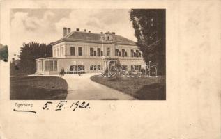 Ivánegerszeg (Vasegerszeg), Markusovszky kastély (EK)