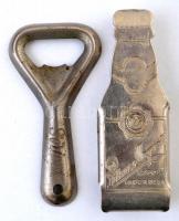 2 db sörnyító (Pilsner Urquell, Söripar), 8 cm
