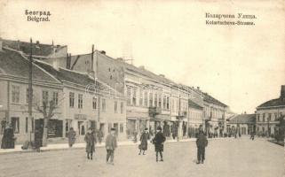 Belgrade, Kolartscheva Strasse / street