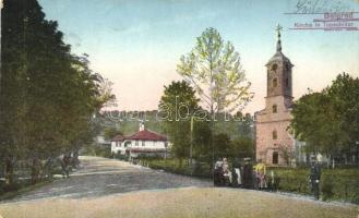 Belgrade, Kirche in Topschnider, K.u.K. Feldpostamt