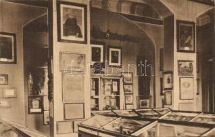 Arad, Ereklyemúzeum belső, III. terem, Kossuth emléktárgyai / museum interior (EK)