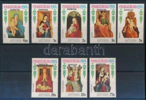 Karácsony motívum 61 klf bélyeg 3 stecklapon