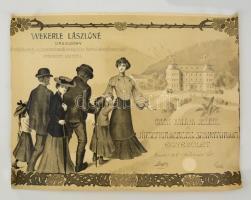 1905 A József királyi Herceg Szanatóriumi Egyesület nagyméretű litografált oklevele / large lotho warrant 56x45 cm (vágott)