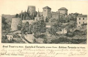 Fiume, Tersatto, Trsat; castle