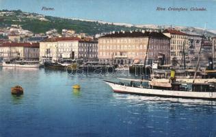 Fiume - 5 db régi képeslap, vegyes minőség / 5 pre-1945 postcards in mixed quality