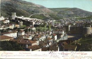 Dubrovnik, Ragusa; Stadtmauern