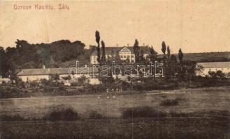 Sály, Gorove kastély, kiadja Balázs Ferenc (fa)