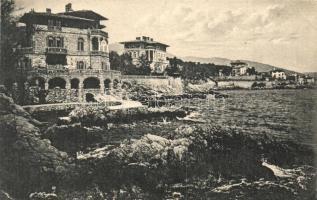 Lovran, Lovrana - 12 db régi képeslap / 12 pre-1945 postcards