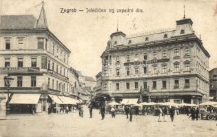 Zagreb - 17 pre-1945 potcards, mixed quality