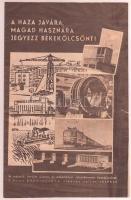 cca 1949 Jegyezz Békekölcsönt! 8 oldalas képes propaganda nyomtatvány