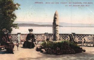 Abbazia, Curpark mit Tropfstein