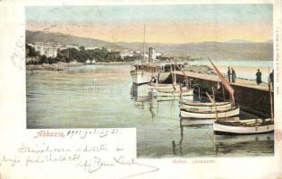 Abbazia, Hafen / port (EK)
