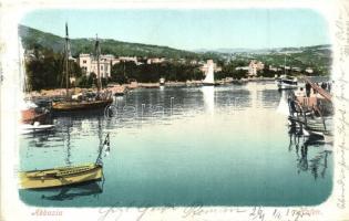 Abbazia, Hafen / port