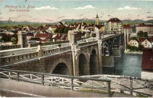 Maribor, Marburg; Neue Donaubrücke / bridge