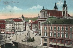 Ljubljana, Laibach; Marijin trg / square