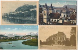 Ljubljana, Laibach; 10 pre-1945 postcards