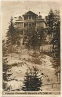 Vorokhta, Worochta; Pensionet Swiatowid / hotel (cut)