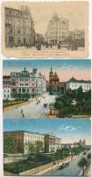 Lviv, Lwów, Lemberg; - 11 pre-1945 postcards
