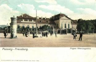 Pozsony, Pressburg, Bratislava; Frigyes főhercegpalota / palace (EK)