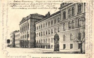 Kolozsvár, Cluj; Ferenc József Tudományos Egyetem, Stief J. és Társa kiadása / university